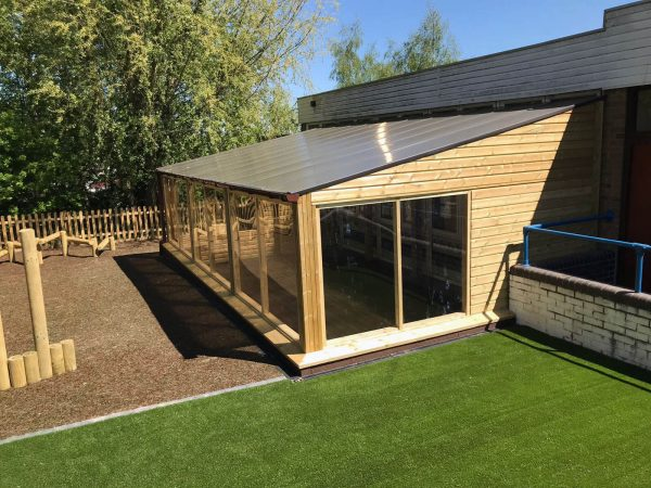 Outdoor Shelter for Schools