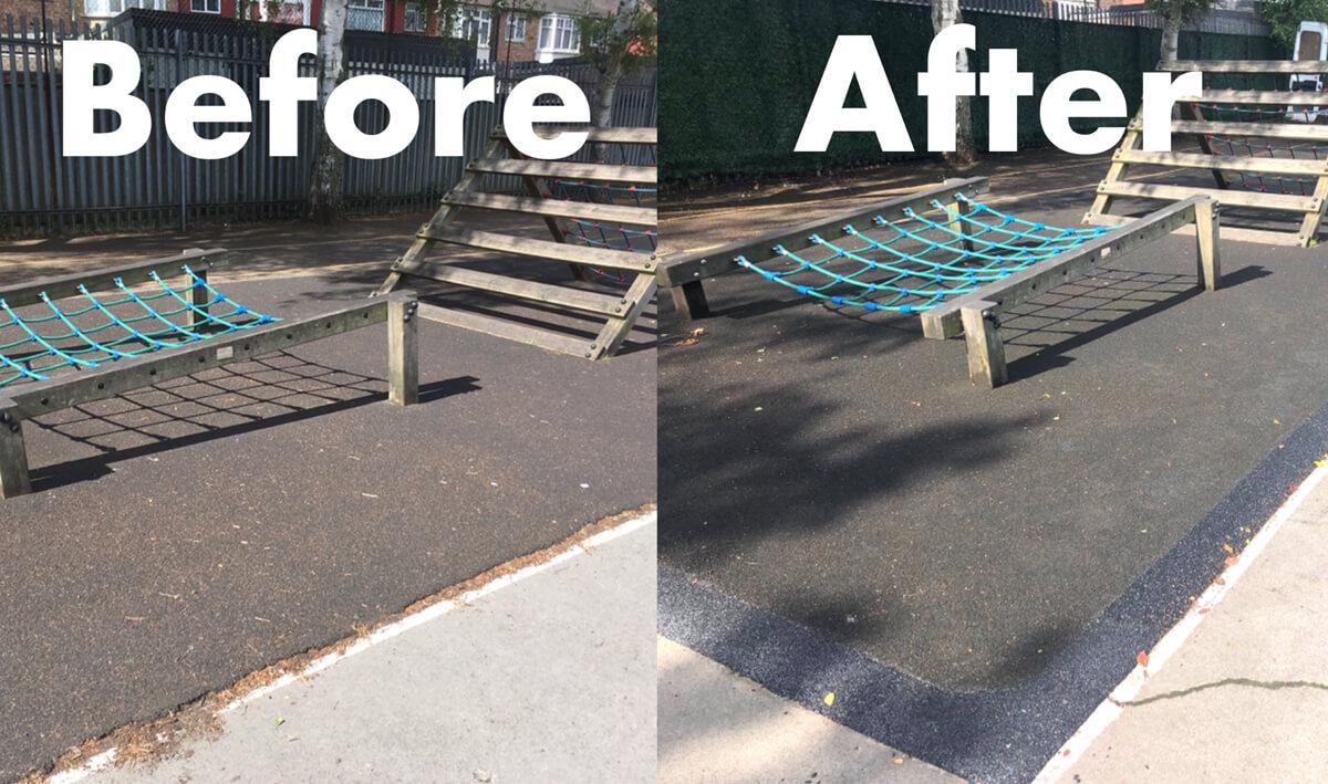 School Playground Repairs and Refurbishments
