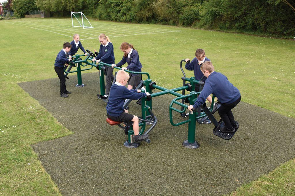 School Playground Sports, Fitness and MUGAs, Multi Use Games Area