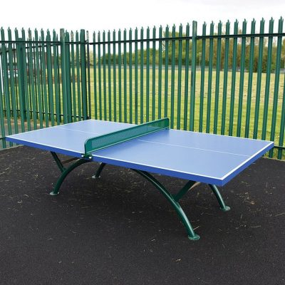 image of a steel table tennis table for school playgrounds