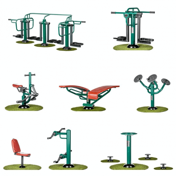 image of outdoor gym bundles for primary schools