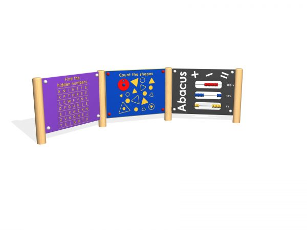 numerical play panel for schools